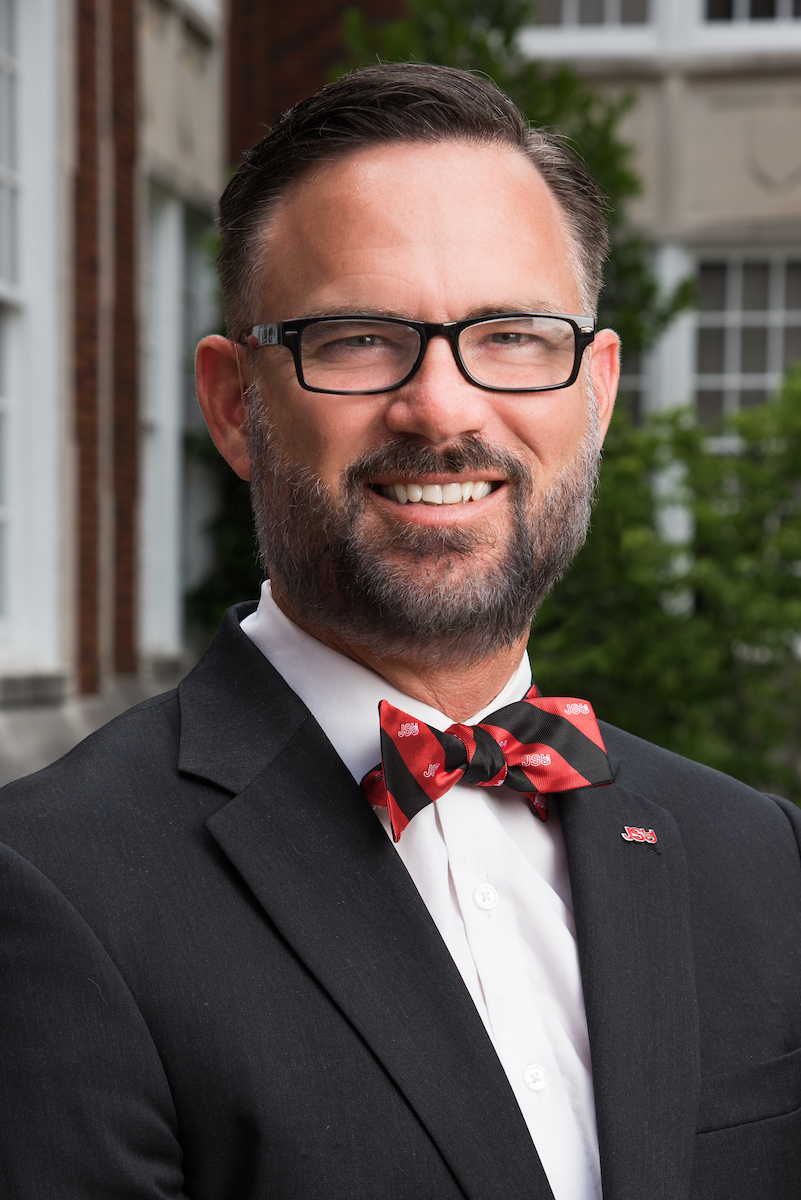 Vice President of Student Affairs, Dr. Timothy B. King.
