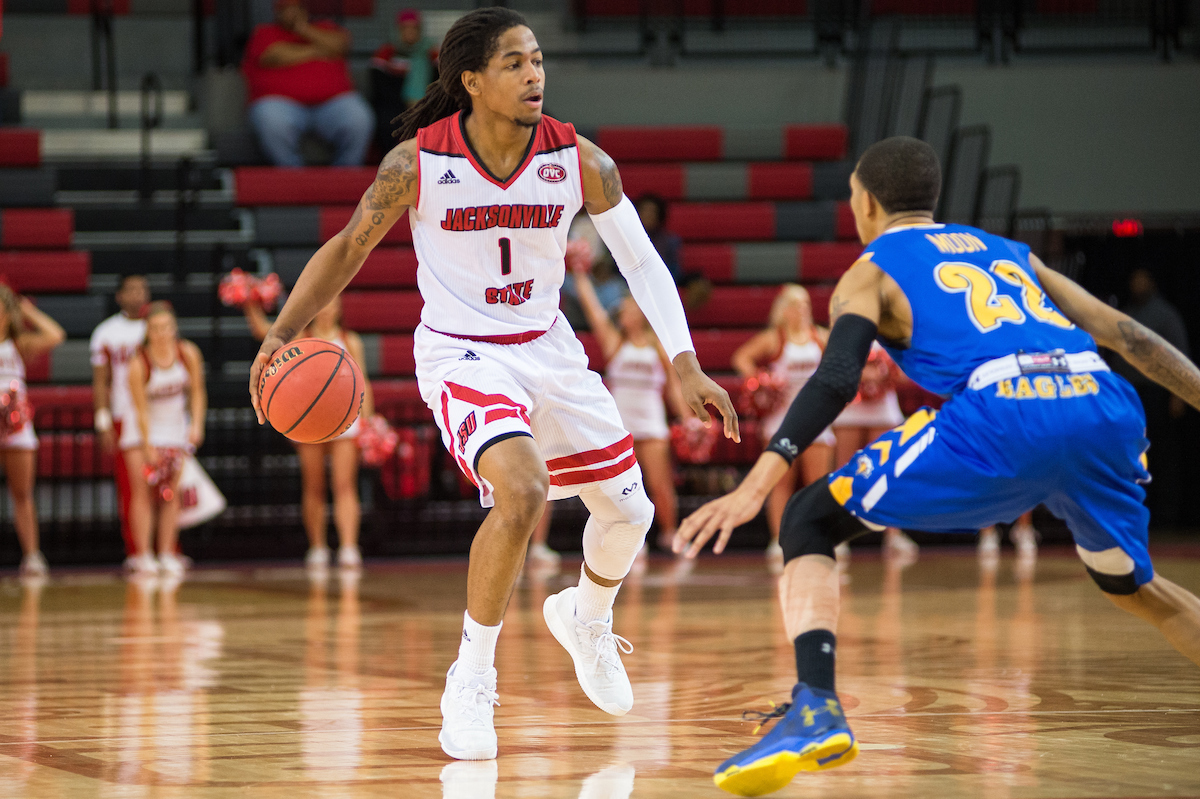 The Jacksonville State men's basketball team fell 72-69 to Morehead State.