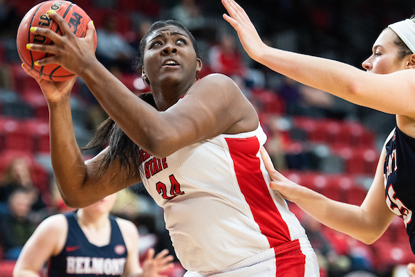 The JSU Women's basketball team loses to Belmont 64 to 41.