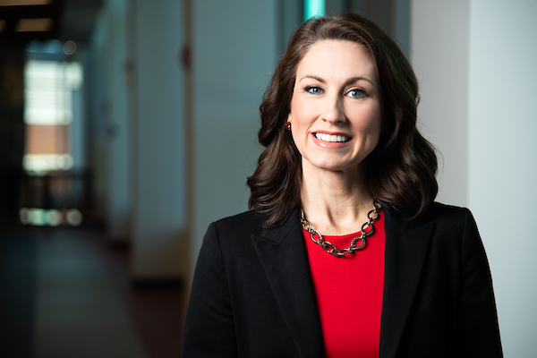 Dr. Emily Messer previously served as the Associate Vice President for Enrollment Management and is assuming her new role amidst record number enrollment at Jacksonville State University. (Photo courtesy of JSU)
