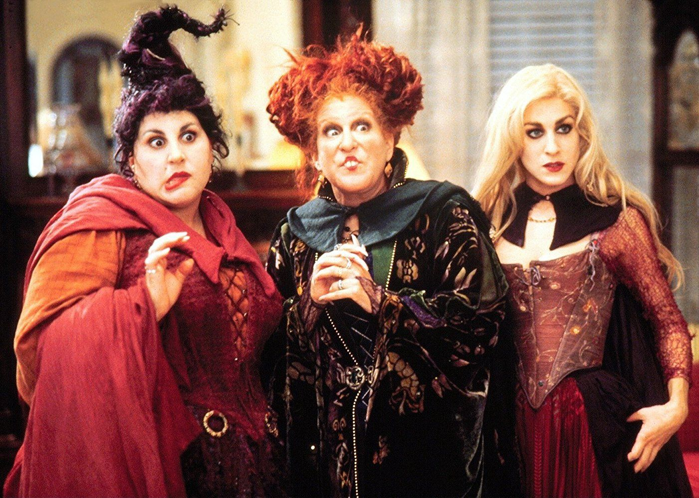 """Photo of the main characters from the film """"Hocus Pocus"""". (Photo courtesy of IMDB)"""