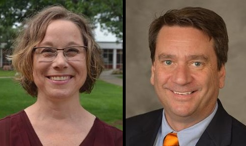 Dr. Tracey Matthews, pictured left, and Dr. Steven McClung, pictured right. (Courtesy of JSU)