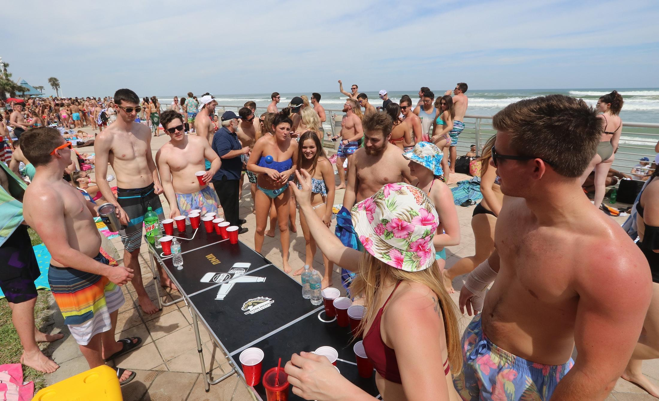 A survey conducted by The Chanticleer found that 53 percent of college students plan to travel for spring break amid COVID-19 pandemic. (Courtesy of The Daytona Beach News-Journal)