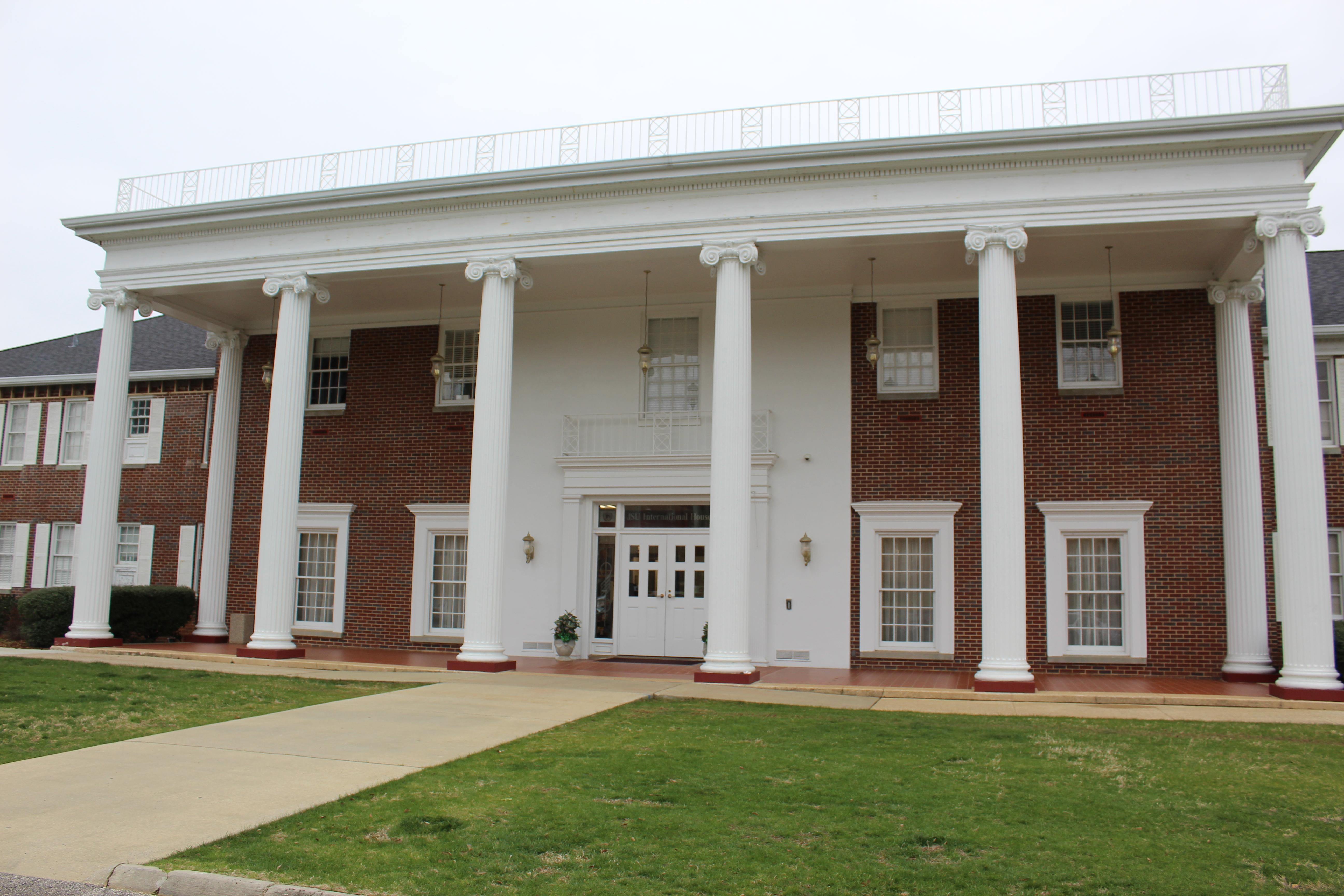 The International House, pictured, started in 1946 and currently house 40 students. (Scott Young/The Chanticleer)