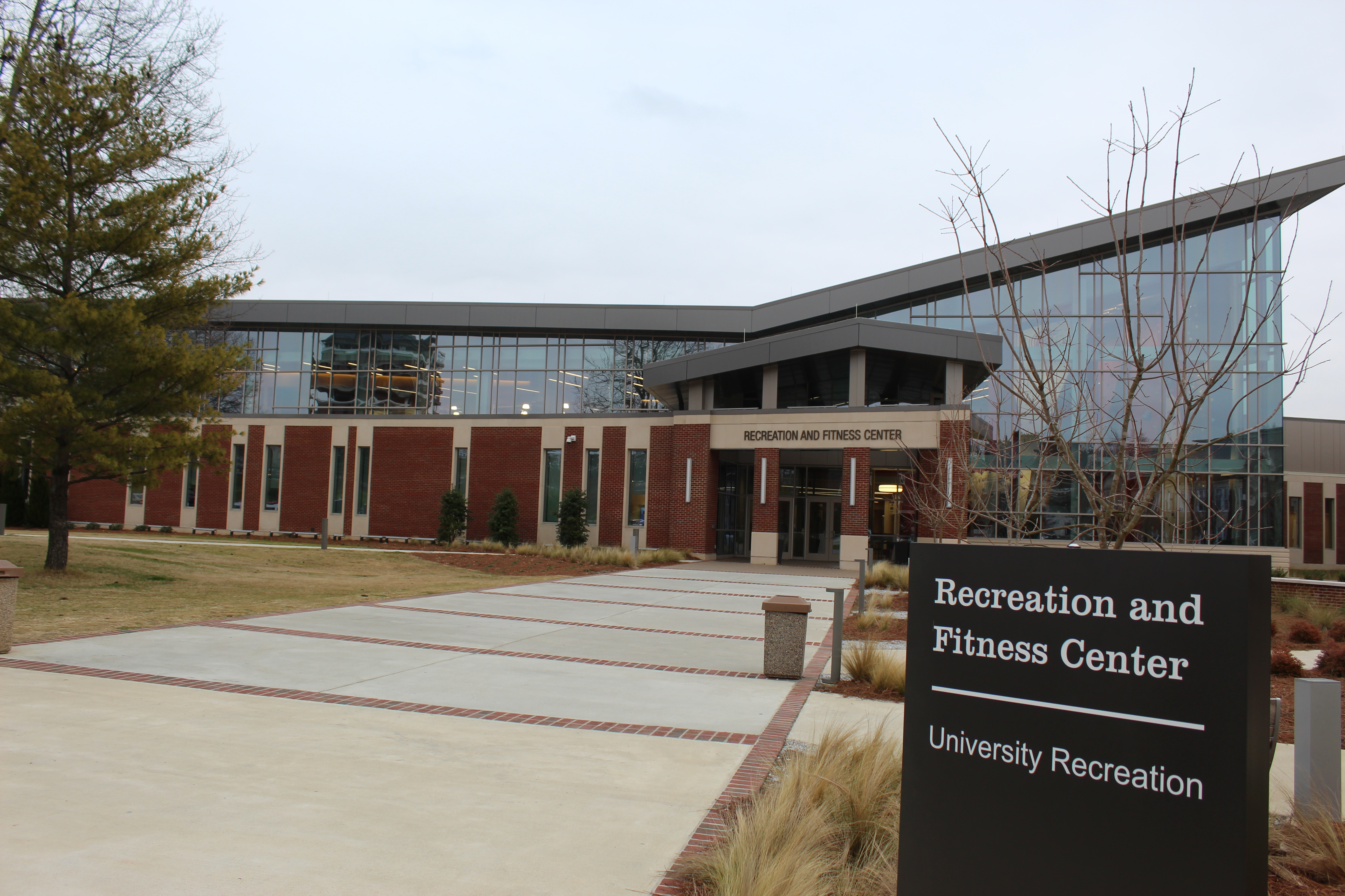 The Recreation and Fitness Center, pictured, has been closed until further notice. (Scott Young/The Chanticleer)