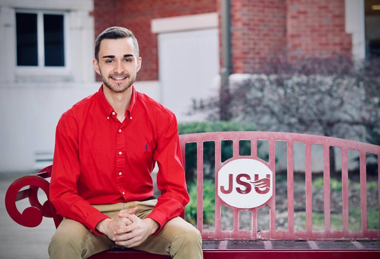 Jerod Sharp, pictured, has been elected SGA president for the 2020-2021 academic year at Jacksonville State University. (Courtesy of Jerod Sharp)