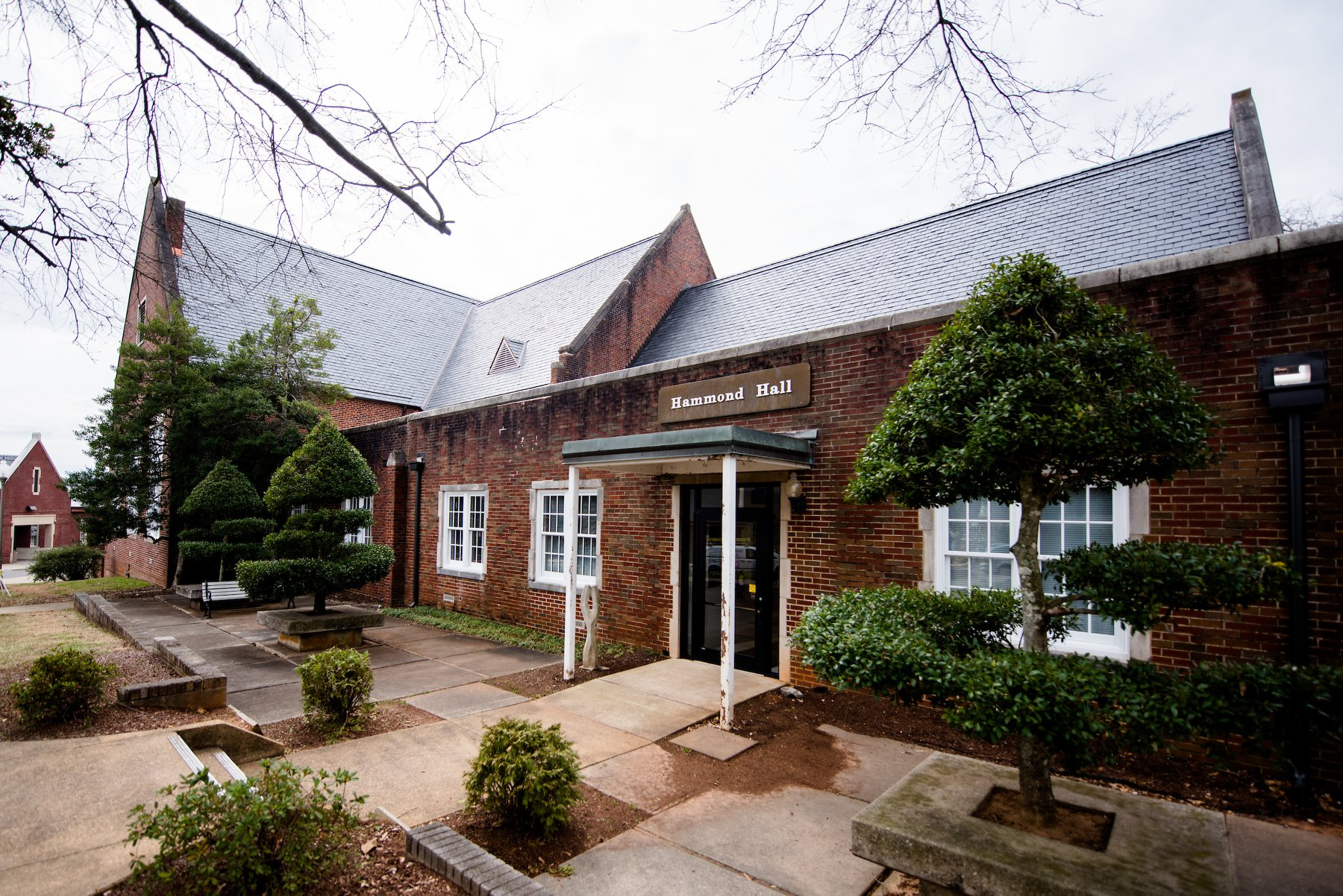 Hammond Hall, pictured, is home to JSU's art department. (Grace Cockrell/JSU)