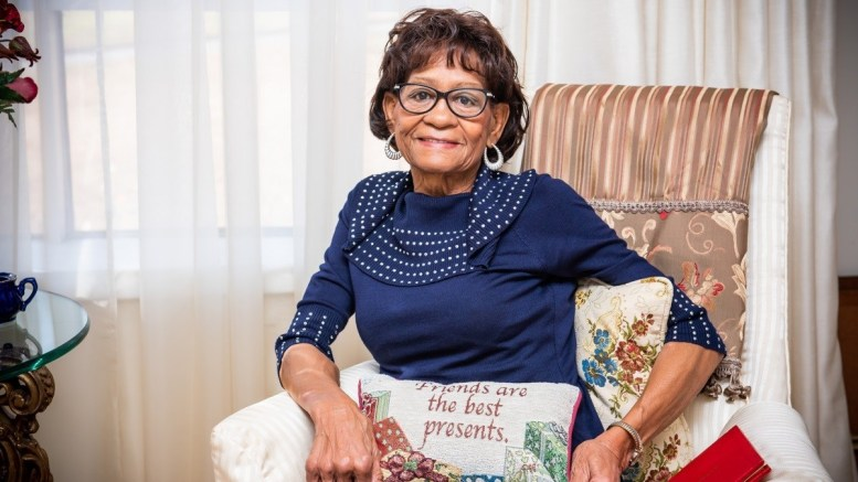 Barbara Curry-Story earned her degree in education from Jacksonville State University in 1969. (Nik Layman/Alabama NewsCenter)