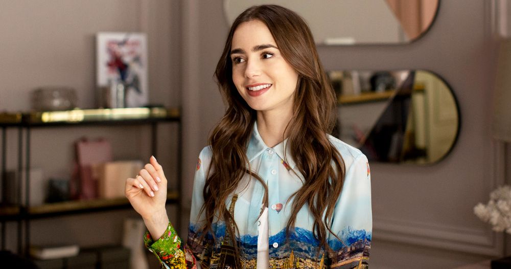 "Lily Collins, pictured, plays Emily in the new Netflix original ""Emily in Paris."" (Courtesy of Vulture)"