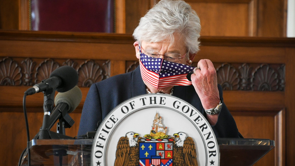 Gov. Kay Ivey announced on Wednesday that the mask mandate in Alabama would be extended until November 8. (Stephen Quinn/ABC 3340)