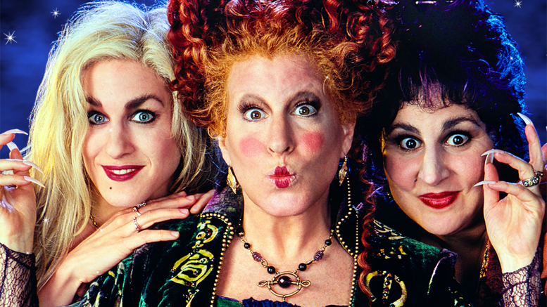 """Hocus Pocus"" was released in 1993 and can be viewed on Disney+. (Courtesy of Walt Disney Pictures)"