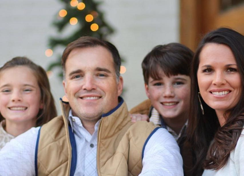 Adam Allen pictured with his family. Allen wrote a letter to The Chanticleer urging JSU students to vote for him for Jacksonville City Council. (Courtesy of Adam Allen)