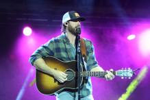 Country musician Riley Green performed for 3,500 fans in the Burgess-Snow Field on Friday for a JSU athletics benefit concert. (Coley Birchfield/JSU)