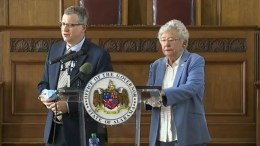 Governor Kay Ivey announced at a press conference on Thursday that the mask ordinance in Alabama would be extended through Dec. 11. (Courtesy of WAFF 48 News)