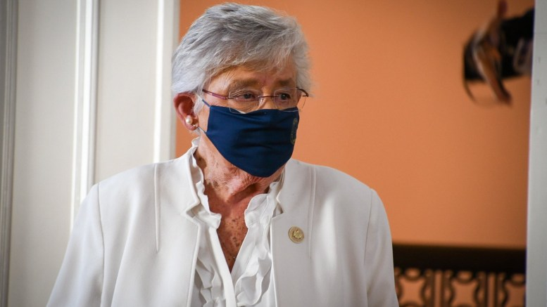 Gov. Kay Ivey announced on Wednesday that the state's mask order will be extended through Jan. 22. (Courtesy of ABC 33/40)