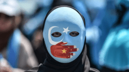"Natalie Walls writes that human rights abuses in China against the Muslim Uighur community must be met with ""naming and shaming"" in the United Nations. (Ozan Kose/AFP)"