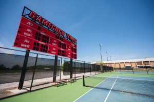 Jacksonville State's women's tennis team now holds a 2-1 record in their season. The men's team holds a 1-0, as two of their matchups were either postponed or canceled. (Matt Reynolds/JSU)