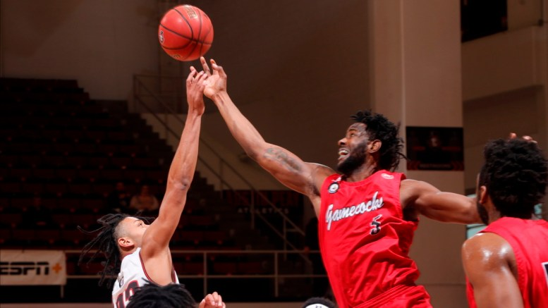 JSU men's basketball team triumph over Austin Peay Saturday. (Courtesy of Austin Peay Sports Information)