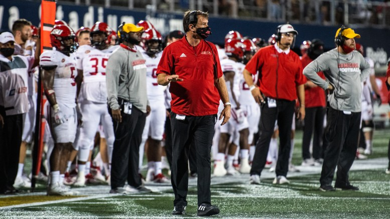 The Jacksonville State University Board of Trustees voted unanimously during its meeting on Tuesday to seek out a new athletic conference, thus exiting the Ohio Valley Conference. (Matt Reynolds/JSU)