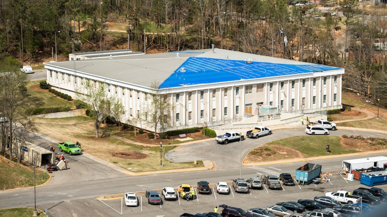 The Board of Trustees approved the preliminary budget for the renovations of Wallace Hall during their quarterly meeting in January. (Matt Reynolds/JSU)