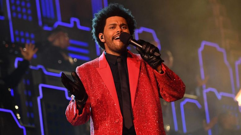 """The Weeknd performed the halftime show for the Super Bowl LV. Correspondent Chandler Bentley describes his performance as """"stunning"""" and """"like no other."""" (Courtesy of Forbes)"""