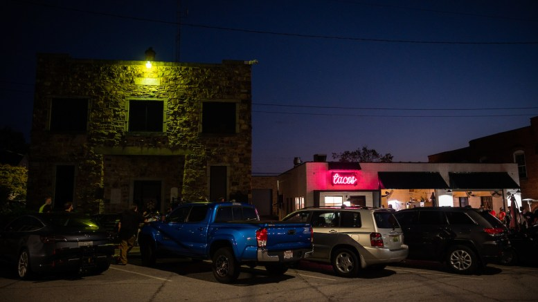 Heirloom Taco is a local taco restaurant located adjacent to the Jacksonville Square. (Matt Reynolds/JSU)