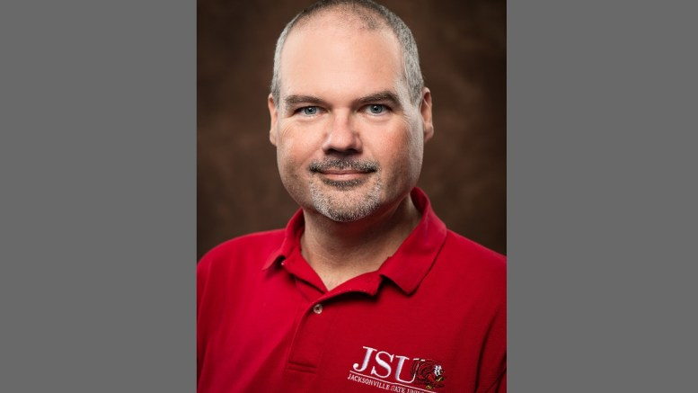 Chris Marker, pictured, was a former head of the Department of Applied Engineering at Jacksonville State University. Marker died on March 9 at the age of 49. (Matt Reynolds/JSU)