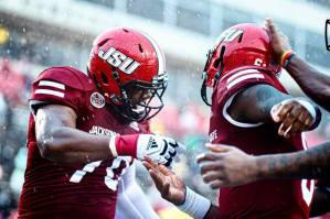 The Gamecocks claimed victory over Tennessee Tech on Saturday, defeating them 27-10 in JSU's season opener. (Grace Cockrell/JSU)