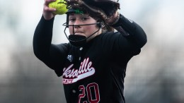 Jacksonville State's softball team defeated Southern Mississippi on Saturday in the Gamecocks' first win of the season. (Courtesy of JSU)