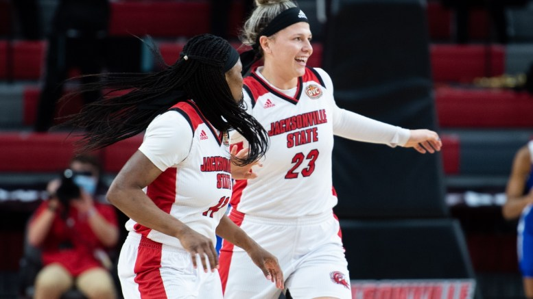 Jacksonville State women's basketball team lost to Murray State, but come out on top at Austin Peay in last weekend's games. (Matt Reynolds/JSU)