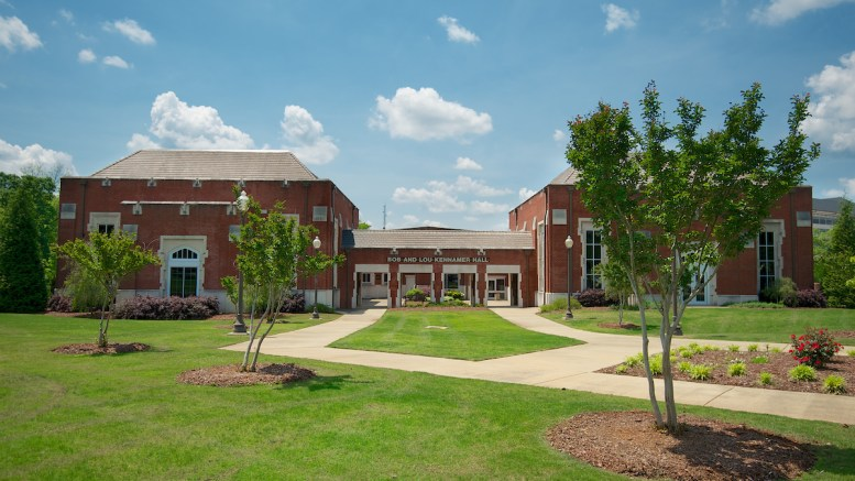 Kennamer Hall, pictured, is the site of JSU's vaccine clinics. The university is hosting a clinic April 1 from 10 a.m. to 6 p.m. (Matt Reynolds/JSU)
