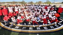 Gamecocks claim sixth conference title in seven seasons after a 28-14 win over Murray State. (Courtesy of JSU)