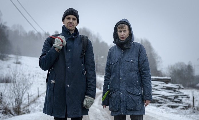 Håvard Volden, pictured left, and Jenny Hval, pictured right, are members of Lost Girls. (Courtesy of Under The Radar)