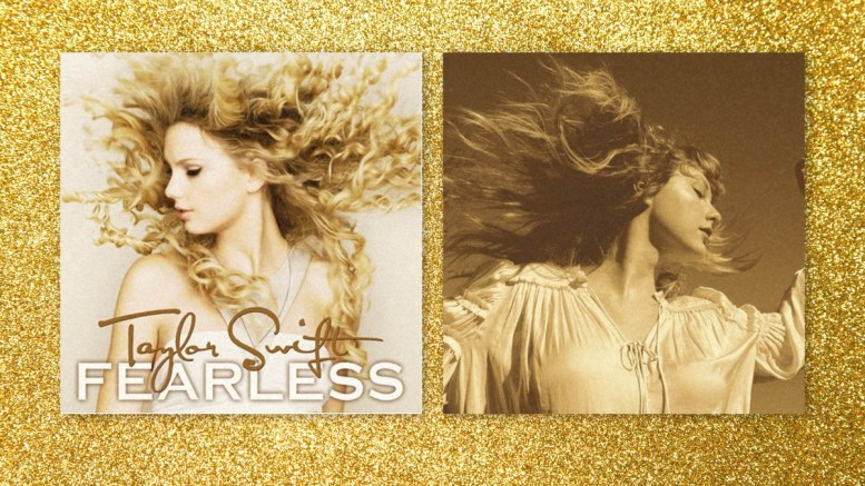 Fearless (Taylor's Version) was released on April 9, 2021. (Courtesy of Time)